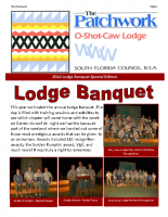 2014 Lodge Banquet Special Edition