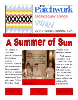 2014 Summer Patchwork