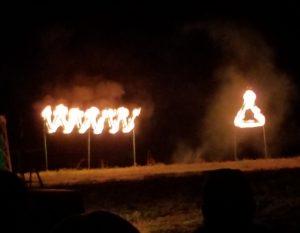 WWW and Vigil Symbols on Fire