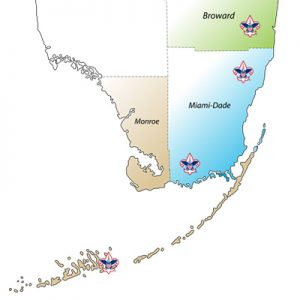 South Florida County Map